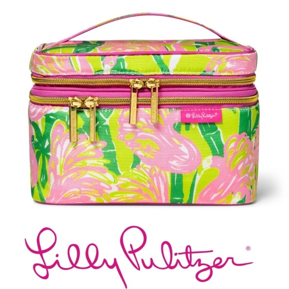 Lilly Pulitzer for Target Handbags - Lilly Pulitzer make up train case NWT